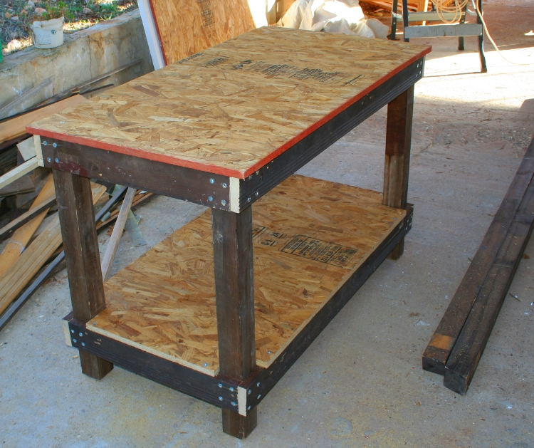 Diy Cheap And Sturdy Workbench Plans Wooden Pdf Small